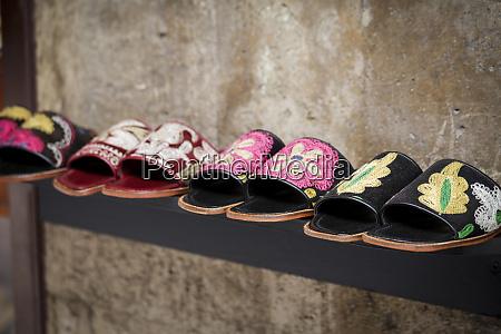 istanbul turkey local handmade sandals