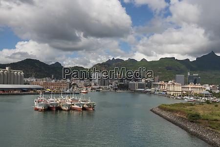 mauritius port louis caudan waterfront port