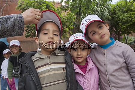 africa morocco marrakesh children at the