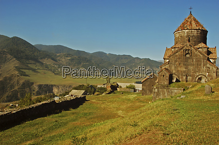 armenia haghpat view of a catholic