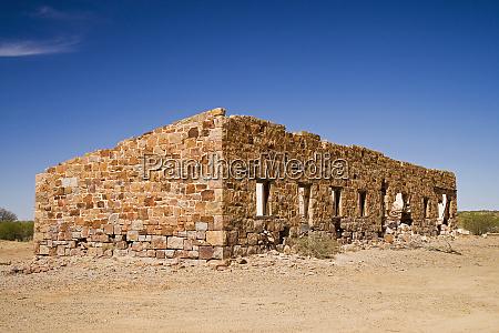 algebuckina railway station ruins old ghan
