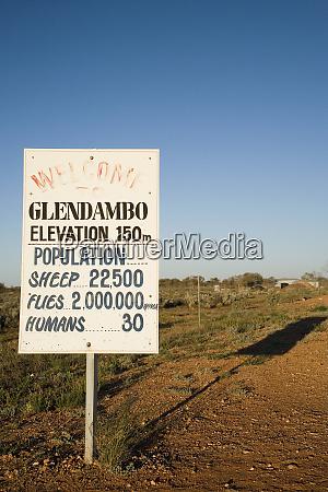 glendambo sign stuart highway outback south