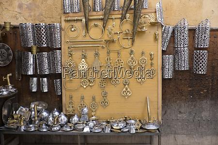 morocco fez medina crafts of brass