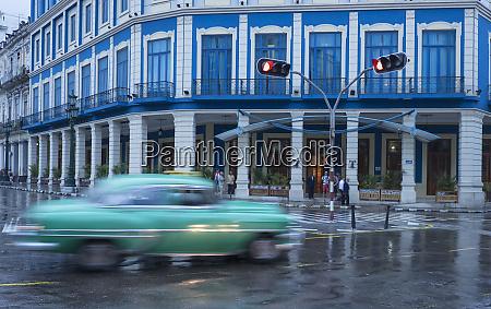 cuba havana a classic car passes