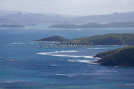 martinique french antilles west indies view