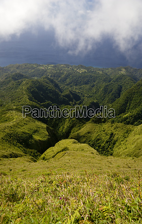 martinique french antilles west indies rugged