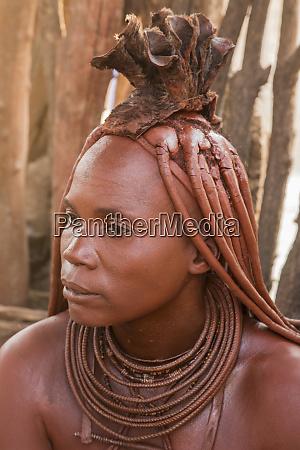 africa namibia opuwo portrait of himba