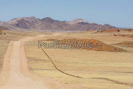africa namibia namib desert long road