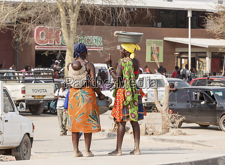 africa namibia opuwo himba women outside