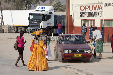 africa namibia opuwo mixture of cultures