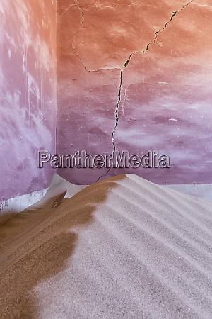africa namibia kolmanskop sand filled corner