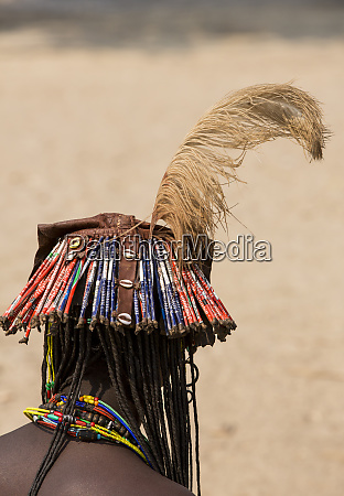 africa namibia opuwo back view of