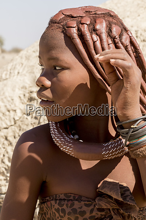 africa namibia opuwo profile portrait of