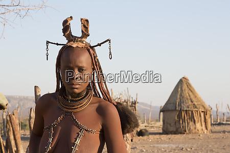 africa namibia opuwo himba woman in