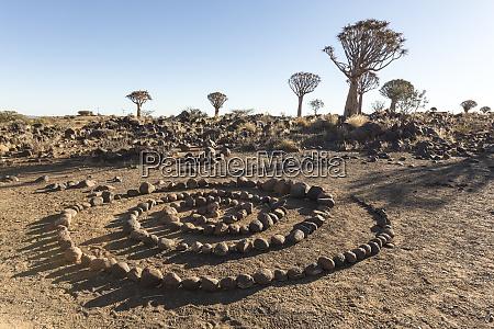 africa namibia keetmanshoop rock spiral and