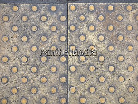 tactile paving for the blind