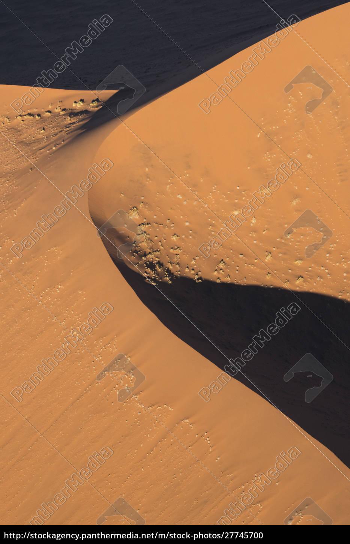 aerial, view, over, sossusvlei, sand, dunes - 27745700