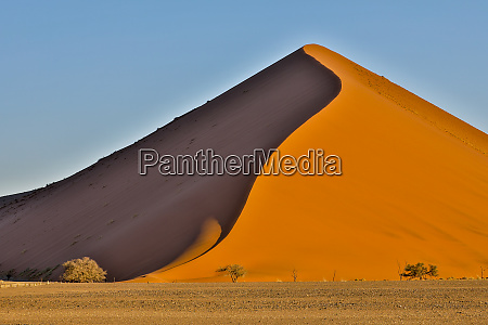 africa namibia sossusvlei dune in the