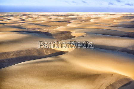 skeleton coast namibia aerial view of