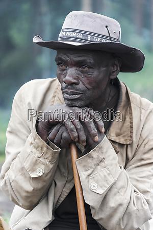africa rwanda ruhengeri portrait of a