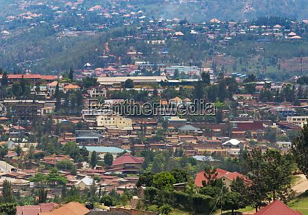 cityscape kigali rwanda