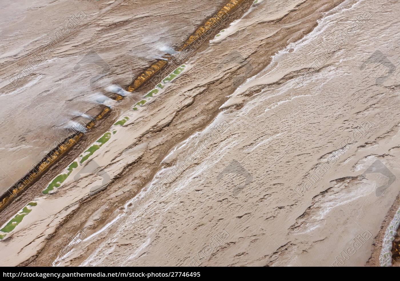 swakopmund, saltworks, , aerial, view, , namibia - 27746495