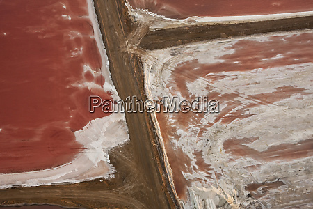 swakopmund, saltworks, , aerial, view, , namibia - 27746501