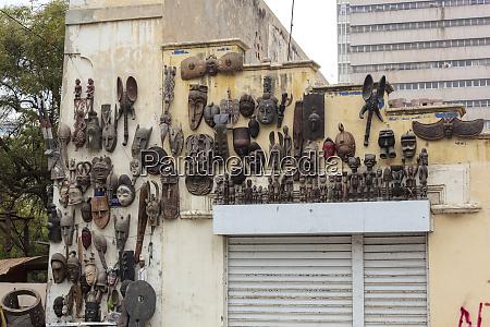 africa senegal dakar collection of wooden