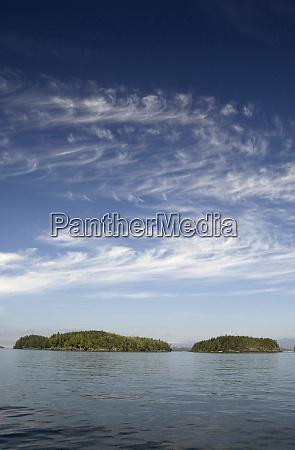 islands queen charlotte strait british columbia
