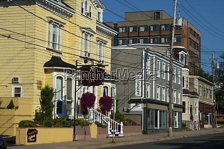 canada nova scotia halifax downtown streetscene
