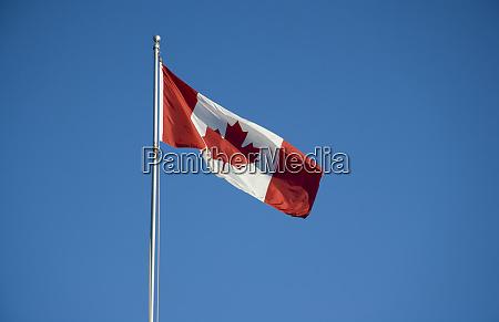 north america canada canadian flag