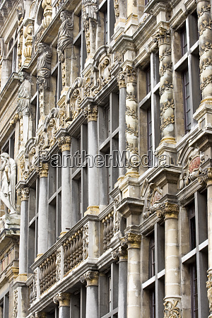 belgium brussels city hall architecture