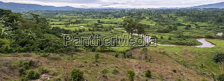 rural scene near bwindi impenetrable forest