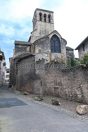 madeleines church tournus burgundy france europe