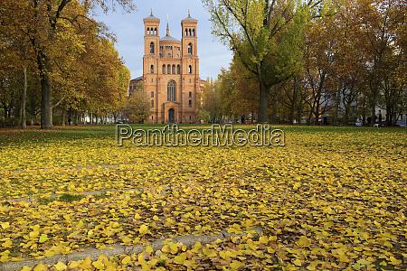 germany berlin saint thomas church