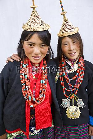 layaps young women from laya village