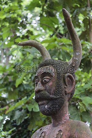 africa benin ouidah close up of