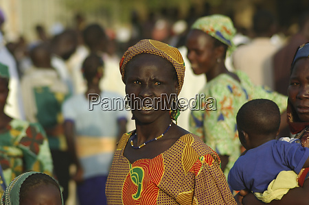 cameroon maga portrait of an african