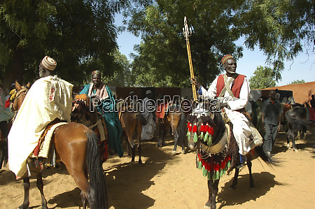 cameroon pouss group of african men