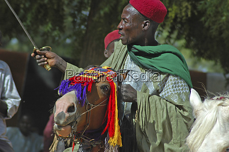 cameroon pouss african man dressed in