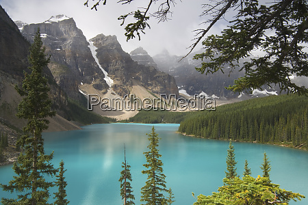 canada alberta banff national park view