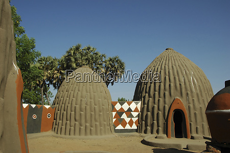 cameroon pouss traditional obus shaped houses