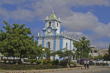 church of tarrafal santiago island cabo