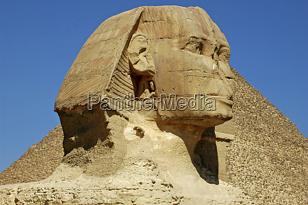 egypt giza head of the sphynx