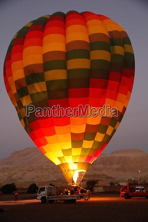 africa egypt luxor hot air balloon