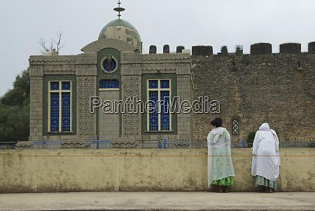ethiopia tigray region axum church