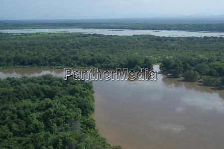 ethiopia aerials of lower omo river
