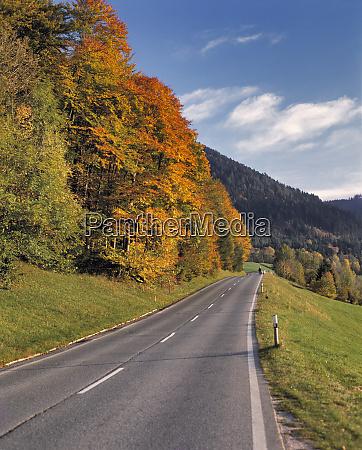 germany bavaria ramsau walkers enjoy an