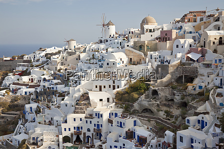 oia santorini cyclades islands greece
