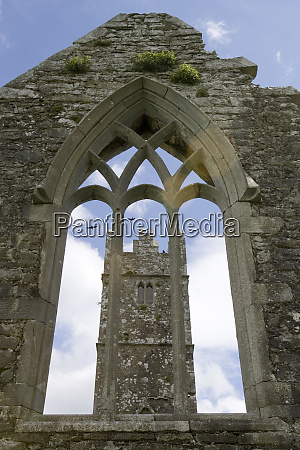 ireland galway ross errilly friary bell